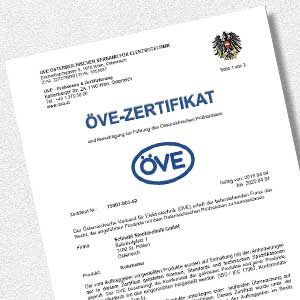Download AKS ÖVE certificate