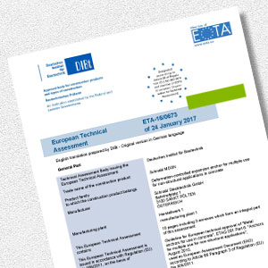 Download MDSN - European Technical Assessment